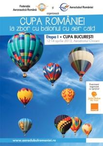 Cupa Romaniei la zbor cu balonul
