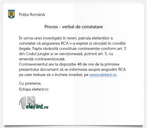 Amenda Elefant RCA
