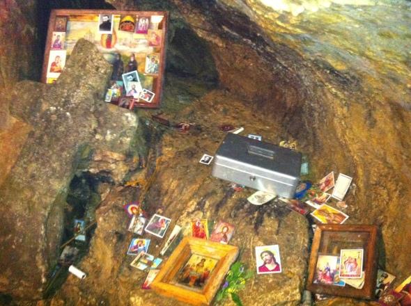 Altar Pestera Ialomitei