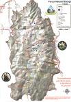 Harta Platoul Bucegi