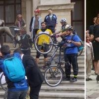 TRADIŢII URBANE: De la mireasa-biciclistă adusă la muzeu, la hora miresei din bulevardul Unirii!