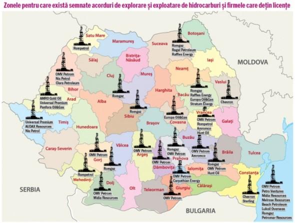 Harta-gazelor-de-şist-din-România