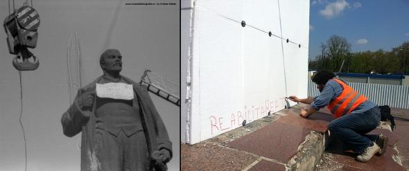 Ultimul urmas pe soclul lui Lenin