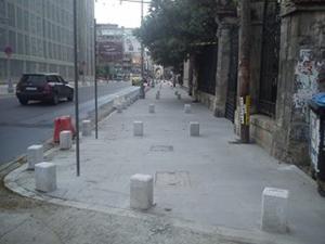 Obstacole pe Calea Victoriei