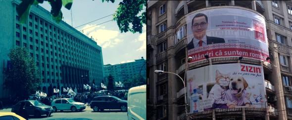 Proteste si Pisicul Ponta