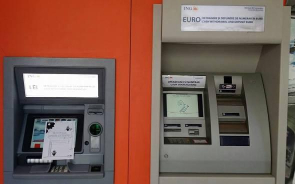 Bancomat euro ING Bank