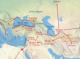 History of R1b from the Ice Age origins until the beginning of the Hallstatt period (1200 BCE)