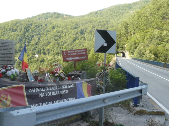 Accident Muntenegru 23 iunie 2013