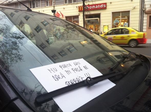 Nu parca aici