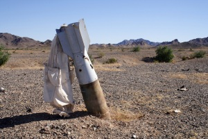 Bomb, Blue Mountain Target, Chocolate Mountain Gunnery Range
