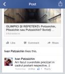 Precizare nume Ivan Patzaichin 2