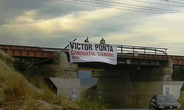 Victor Ponta candidatul cianurii