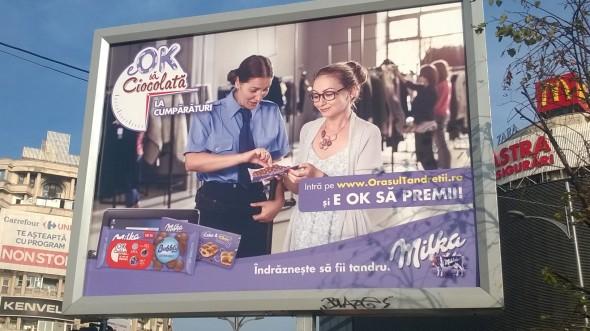 Milka - limba mov sau vaca nebuna