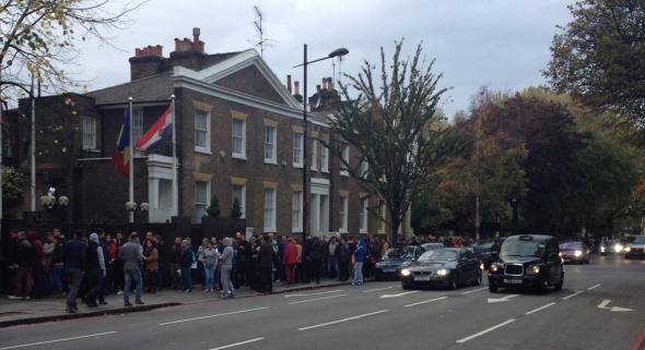 Londra Alegeri 02nov2014