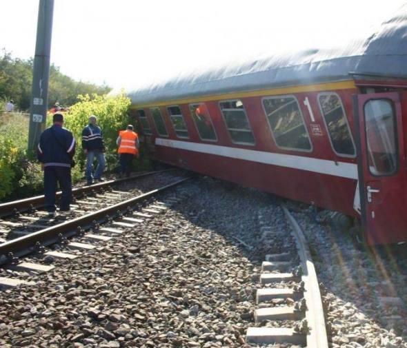 Tren deraiat Lia Lungu