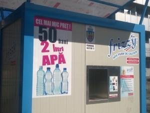 Frizzy 50 bani 2 litri apa
