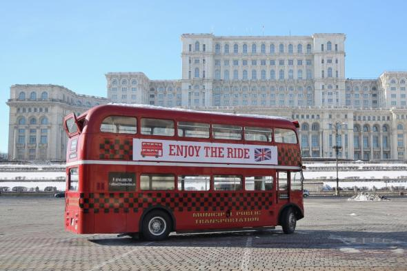 London Bus Bucuresti