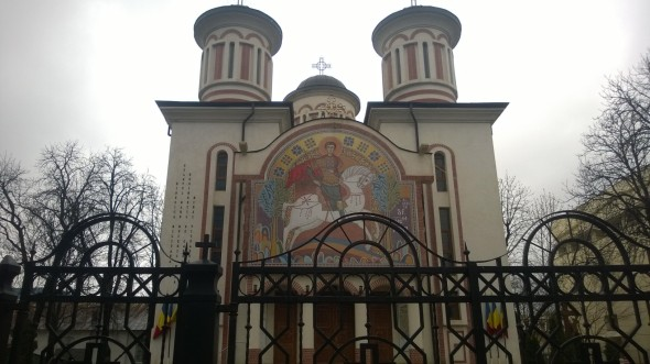 Biserica militara - Sfantul Mare Mucenic Mina