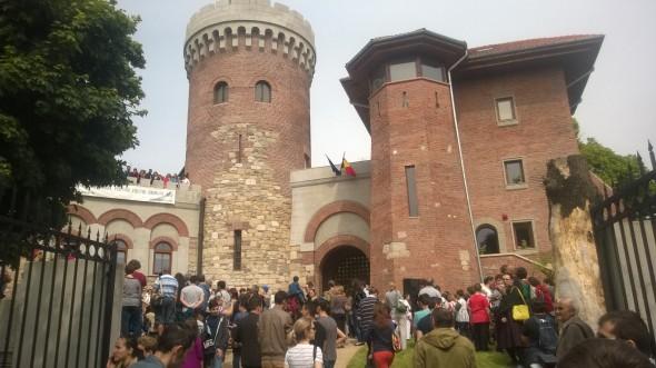 Castelul lui Vlad Tepes din Parcul Carol