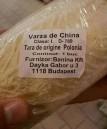 Varza de China produsa in Polonia adusa de unguri vanduta in hypermarket nemtesc