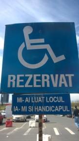 Parcare handicap