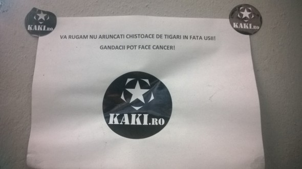 KAKI - gandacii pot face cancer