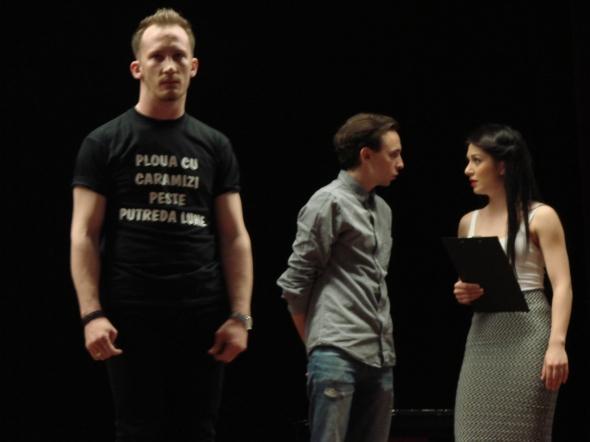 """Spectacol U.N.A.T.C. - Trupa de Teatru Nathalie? – """"7 zile din viata lui Simon Labrosse"""""""