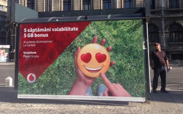 Emoji Vodafone