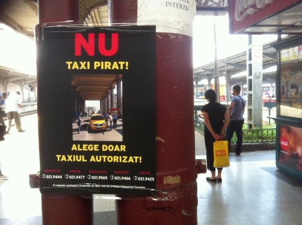Gara de Nord - Nu Taxi Pirat