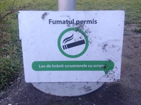 fumatul-permis-loc-de-hranit-scrumiere