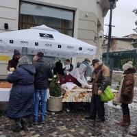 """MICA ELVEȚIE: 400 de porții de supă fierbinte pentru oameni nevoiași pregătită de familia Hausmann. """"Solidaritatea și generozitatea nu trebuie să ne lipsească din suflete!"""""""