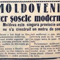 CENTENAR: Dupa 100 de ani, România încă așteaptă șosele moderne!