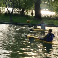 CAIAC-POLO: Lacul IOR bază de antrenament pentru un sport nou
