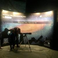 SLĂNIC PRAHOVA: Aselenizarea de sub Pământ. Dumitru Prunariu și Alexandru Mironov primiți cu pâine și sare în cel mai mare planetariu din România