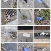 CARANTINĂ & PROSTIE: Noile deșeuri medicale apărute pe străzi. Mai sănătos e un caca de câine!