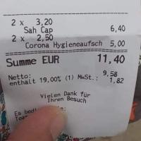 GERMANIA: Taxa de igienizare COVID este 5 euro. Românii spun Nicht!