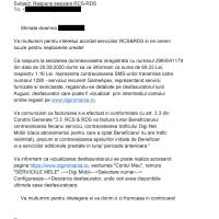ESCROCHERIA APEX: Mesaje cu suprataxare inversă ascunse pe factură și protejate de DIGI/RDS?