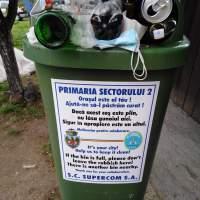 """SECTOR 2: Mulțumim pentru textul în limba engleză de pe fiecare pubelă, dar """"Empty Trash"""" nu se face din mouse!"""