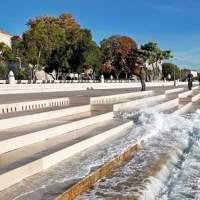 CROAȚIA: Orgă de 80 metri la care cântă Marea Adriatică și vântul!